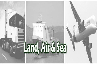 air-road-sea