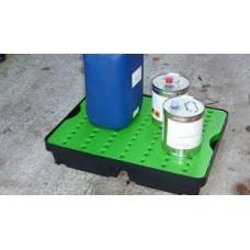 30L Drip Tray Green / Black