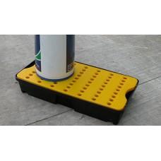 30L Drip Tray Yellow / Black