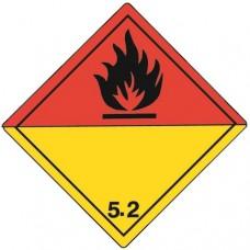 Class 5.2 Organic Peroxide Label