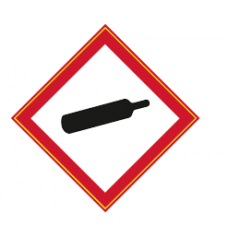 Compressed Gas Label
