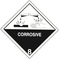 Class 8 Corrosive Label