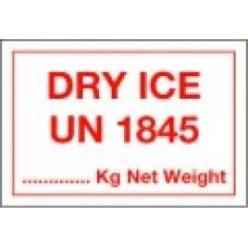 Dry Ice Label