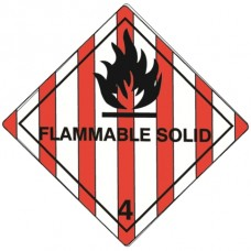Class 4.1 Flammable Solid Label