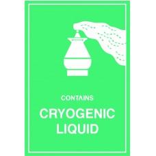 Cryogenic Liquid Label