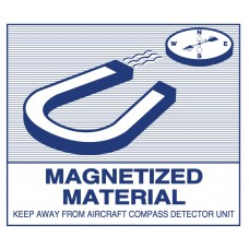 Magnetized Material Label