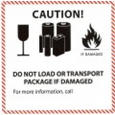 Lithium Battery Label