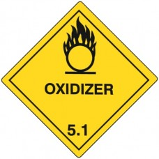 Class 5 Oxidising Agent Label