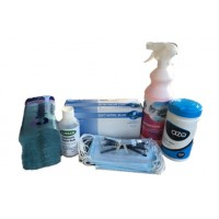 COVID Kit ideal for drivers of HGV and plant machinery