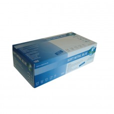 Nitrile Gloves - SOFT BLUE Powder Free