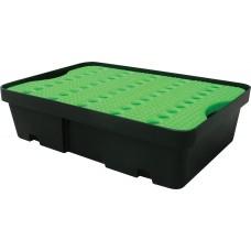 20L Drip Tray Green &  Black