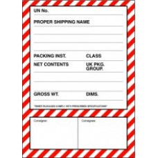 Shipping Label Label - Pack of 100