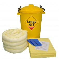 90L Chemical Spill Kit + PPE and Barrier Tape