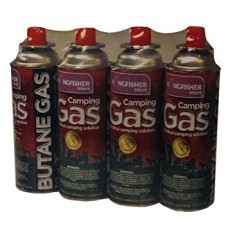Butane Gas Cannisters pack of 4