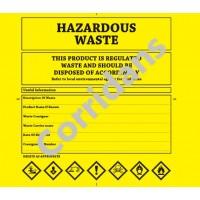 Hazardous Waste Bags 50 pack