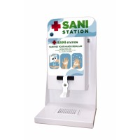 Sani Station Counter Top and Wall Mounted