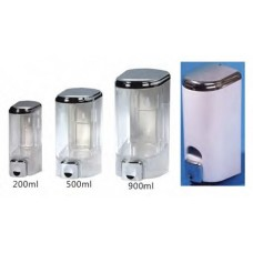 500ml Liquid Soap Dispenser With Transparent Clear Window