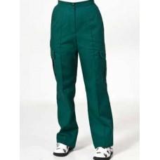 Contrast Trousers bottle green