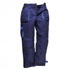 Contrast Trousers navy blue