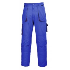 Contrast Trousers royal blue