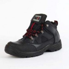 Black SafetyTrainer Style Boot