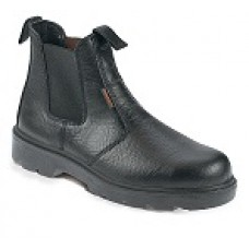 Black Safety Dealer Style Boot