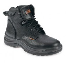 Black Safety Style Derby Boot