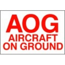 Aircraft On Ground Label