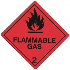 Class 2.1 Flammable Gas Placards