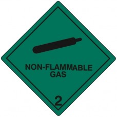 Class 2.2 Compressed Gas Label