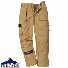 Contrast Trousers khaki